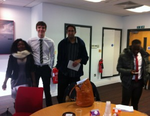 AAT Level 1 students enjoying themselves